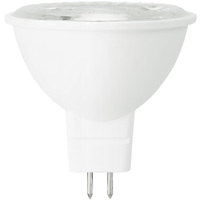 LED MR16 - 7 Watt - 50 Watt Equal - Halogen Match - Color Corrected - CRI 93 - 500 Lumens - 3000 Kelvin - 25 Deg. Narrow Flood - 12 Volt - GU5.3 Base - MaxLite 14101639