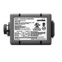 Power Pack - 20a - 120-277v - Fluorescent/Incandescent - Auto On Occupancy Sensor Input - Leviton OPP20D1