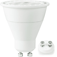 500 Lumens - LED MR16 - 6 Watt - 50W Equal - 3000 Kelvin - 40 Deg. Flood - Dimmable - 120 Volt - TCP LED7MR16GU1030KFL