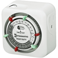 Intermatic TN311 - 24 Hour Mechanical Indoor Timer - 1 Outlet - 1750 Max. Wattage - 125V - 15 Amp