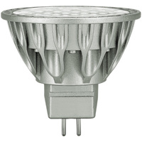 LED MR16 - Smooth Dims from Incandescent to Candle Light Colors - Color Corrected CRI 95 - 7.5 Watt - 410 Lumens - 50 Watt Equal - 36 Deg. Flood - 12V - GU5.3 Base - Soraa 06621