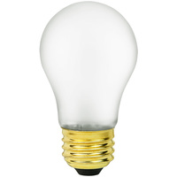 Shatter Resistant - 40 Watt - A15 Light Bulb - Medium Brass Base - 130 Volt - Satco S4881