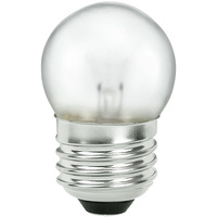 Shatter Resistant - 7.5 Watt - S11 Incandescent Light Bulb - Silicone Coating - Medium Base - 130 Volt - PLT TC-0007S11CL