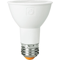 580 Lumens - LED PAR20 - 6.5 Watt - 50W Equal - 3000 Kelvin - 25 Deg. Narrow Flood - Dimmable - 120 Volt - Green Creative 34894