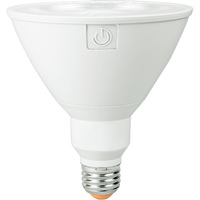 LED PAR38 - 15.5 Watt - 120 Watt Equal - Halogen Match - Color Corrected - CRI 95 - 1370 Lumens - 3000 Kelvin - 40 Deg. Flood - Green Creative 34921