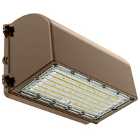 LED Wall Pack - 75 Watt - 9750 Lumens - 5000 Kelvin Replaces 400W MH - Full Cutoff - 120-277 Volt - PLT-11724