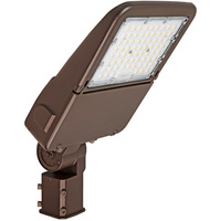 LED Flood Light - 70 Watt - 10,500 Lumens  3000, 4000, or 5000 Kelvin Color Selectable - Replaces 175W MH - Slipfitter Mount - 120-277 Volt - Halco 10345