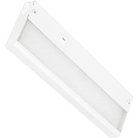 12 in. - Under Cabinet - LED - 5 Watt - 300 Lumens - 3500 Kelvin - Hardwired or Portable Option - Amax Lighting LEDUC12WHT