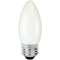 LED Chandelier Bulb - 3 Watt - 25 Watt Equal - 250 Lumens - 2700 Kelvin - Incandescent Match - Frosted - Medium Base - 120 Volt - TCP FB11D2527EW
