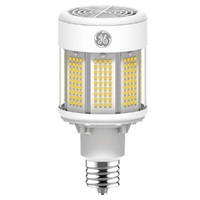 LED HID Retrofit with 6kV Surge Protection - 23,500 Lumens - 400 Watt Metal Halide Equal - 5000 Kelvin - Mogul Base - Universal Burn - Operates By Bypassing Ballast - 120-277 Volt - GE 22613