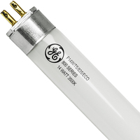 GE 46671 - F14W/T5/835/ECO - High Efficiency T5s - 14 Watt - 3500K - 22 in - 1350 Lumens - 800 Series Phosphors