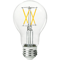 LED Victorian Bulb - 5 Watt - 40 Watt Equal - 450 Lumens - 2700 Kelvin - Incandescent Match - 120 Volt - Green Creative 98376
