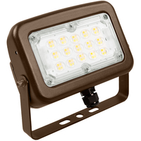 LED Flood Light - 30 Watt - 3819 Lumens - 3000, 4000, or 5000 Kelvin Color Selectable - Replaces 100W Metal Halide - Yoke Mount - 120-277 Volt - Halco 10342
