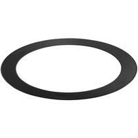 TCP TR6BLK - 6 in. Trim - Black - For TCP DeLux Snap-In Downlights