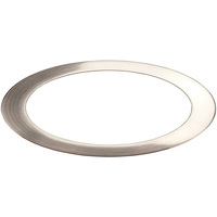 TCP TR6SLV - 6 in. Trim - Silver - For TCP DeLux Snap-In Downlights