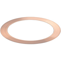 TCP TR6RGD - 6 in. Trim - Rose Gold - For TCP DeLux Snap-In Downlights