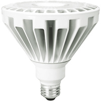 LED PAR38 - 30 Watt - 250 Watt Equal - 3000 Lumens - 3000 Kelvin - 25 Deg. Narrow Flood - 120 Volt - TCP L30P38D2530KNFL