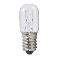 12 Watt - T5.5 Incandescent Light Bulb - Clear - European Base - 130 Volt - Bulbrite 715001