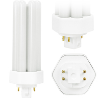 LED - 16 Watt - 4 Pin G24 Base - 1500 Lumens - 3500 Kelvin - Replaces 32W-42W CFL - Plug and Play - 120-277 Volt - TCP LPLU42A2535K
