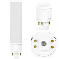 LED PL - 4 Pin G24q or GX24q Base - 19 Watt - 2000 Lumens - 4100 Kelvin Replaces 32W-42W CFL - Plug and Play - 120-277 Volt - TCP LPLH42A5041K