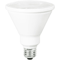 1050 Lumens - LED PAR30 Long Neck - 13.5 Watt - 75W Equal - 3000 Kelvin - 25 Deg. Narrow Flood - Dimmable - 120 Volt - TCP LED14P30D30KNFL