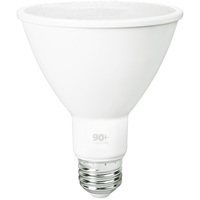 750 Lumens - LED PAR30 Long Neck - 10 Watt - 75W Equal - 3000 Kelvin - 40 Deg. Flood - Dimmable - 120 Volt - 90+ Lighting SE-350.014