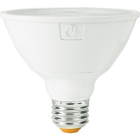 990 Lumens - LED PAR30 Short Neck - 11 Watt - 75W Equal - 3000 Kelvin - 25 Deg. Narrow Flood - Dimmable - 120 Volt - Green Creative 34910