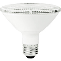 850 Lumens - LED PAR30 Short Neck - 10 Watt - 75W Equal - 3000 Kelvin - 40 Deg. Flood - Dimmable - 120 Volt - TCP LED12P30SD30KFL