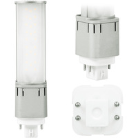 LED PL - 4 Pin G24q or GX24q Base - 11 Watt - 1130 Lumens - 3500 Kelvin - Replaces 26W-42W CFL - Plug and Play/Ballast Bypass - 120-277 Volt - Light Efficient Design LED-7324-35K-G3