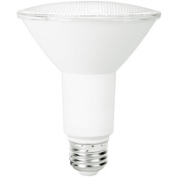 900 Lumens - LED PAR30 Long Neck - 13 Watt - 75W Equal - 3000 Kelvin - 25 Deg. Narrow Flood - Dimmable - 120 Volt - TCP LD13P30D2530KNFLCQ