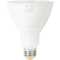 990 Lumens - LED PAR30 Long Neck - 11 Watt - 75W Equal - 3000 Kelvin - 40 Deg. Flood - Dimmable - 120-277 Volt - Green Creative 34914