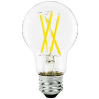 LED Victorian Bulb - 8.5 Watt - 60W Equal - 800 Lumens - 3000 Kelvin - Halogen Match - 120 Volt - Euri Lighting VA19-3000cec