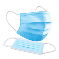 3-Ply - BFE Up To 95% - Protective Face Mask with Ear Loops - Disposable - Pack of 50 - PLT-60003