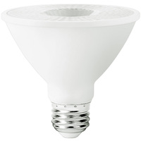 LED PAR30 Short Neck - 10 Watt - 75 Watt Equal - Color Corrected - 750 Lumens - 3000 Kelvin - 40 Deg. Flood - 120 Volt - 90+ Lighting SE-350.012