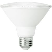 900 Lumens - LED PAR30 Short Neck - 13 Watt - 75W Equal - 3000 Kelvin - 25 Deg. Narrow Flood - Dimmable - 120 Volt - TCP LD13P30SD2530KNFLCQ
