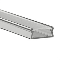 3.28 ft. Anodized Aluminum TAMI Channel - For LED Tape Light and Strip Light - Klus B5390ANODA