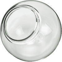 6 in. Clear Acrylic Globe - with 3.25 in.Extruded Lip Neck Opening - American 3202-50650