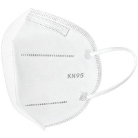 KN95 Face Mask - Disposable - Pack of 5 - PLT-60004