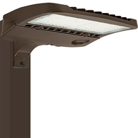 LED Parking Lot Fixture - Type V - 204 Watt - 28,360 Lumens - 5000 Kelvin Replaces 400W MH - Alpine Series Mounting Hardware Sold Separately - 277-480 Volt - PLT-11413A