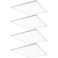 2 x 2 LED Panel - 25, 30, or 40 Watt - 4000 Lumens - 3500, 4000, or 5000 Kelvin Wattage and Color Selectable Fixture - 120-277 Volt - Halco 10331