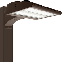LED Parking Lot Fixture - Type V - 80 Watt - 10,800 Lumens - 4000 Kelvin - Replaces 250 Watt Metal Halide - Grandview Series Mounting Hardware Sold Separately - 120-277 Volt - PLT-11543