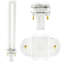 F13BX/827/ECO - 2 Pin GX23 Base - 2700 Kelvin - 13 Watt - CFL - GE 97573