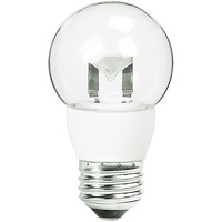 2 in. Dia. - LED G16 Globe - 5 Watt - 40 Watt Equal - Incandescent Match - 300 Lumens - 2700 Kelvin - Medium Base - 120 Volt - TCP LED5E26G1627K