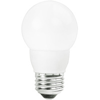 LED - 2 in. Dia. Globe - 5 Watt - 40 Watt Equal - Incandescent Match - 300 Lumens - 2700 Kelvin - Medium Base - 120 Volt - TCP LED5E26G1627KF