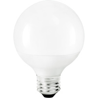 LED - 3.1 in. Dia. Globe - 6 Watt - 60 Watt Equal - Halogen Match - 550 Lumens - 3000 Kelvin - Medium Base - 120 Volt - TCP L6G25D2530KF