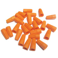Orange Wire Connector - 100 Pack - 22-16 Gauge