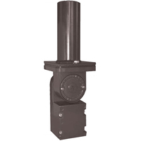 7.75 in. Adjustable Knuckle Slipfitter Mount - Includes a 2 3/8 in. x 6 in. Tenon - For PLT Flood Fixtures
