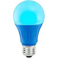 Blue - LED - A19 Party Bulb - 3 Watt - 25W Equal - Medium Base