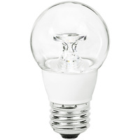 LED S14 Bulb - 5 Watt - 40 Watt Equal - 300 Lumens - 4100 Kelvin - Cool White - Clear - 120 Volt - TCP LED5E26S1441K