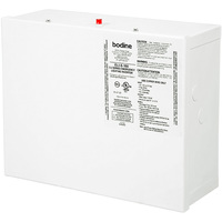 Emergency Battery Backup Inverter - Provides up to 400W Output for 90 min. - Remote Mountable for LED Loads up to 250 Feet Away - Steel Housing - 120 or 277 VAC Input and Output - Bodine ELI-S-100